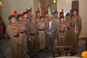 2-2-300x200 Governor Awards Medals to NCC Cadets