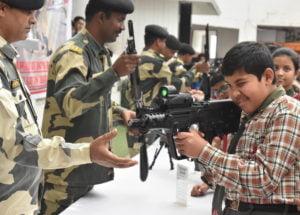 BSF-School-2-300x282 Border Security Force Exhibition in School
