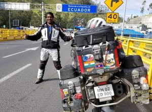Debasshish-Ghosh-welcomed-by-his-family-at-Mumbai-300x200 One World One Ride in 270 Days