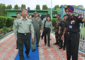 1-300x211 Chinese Military Delegation Visits India