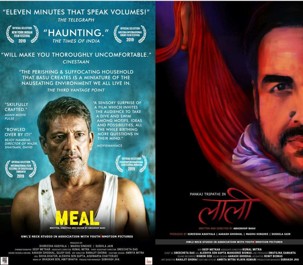 3-8 All women film production house presents 'Meal' & 'Laali'