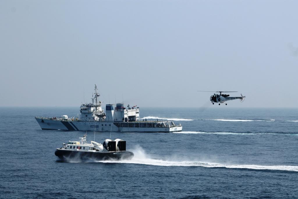 1 6 - Indian Coast Guard Celebrates 44th Raising Day