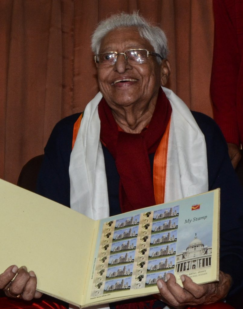1-805x1024 Indian Postal Department honors 'Chuni Goswami' with a commemorative stamp