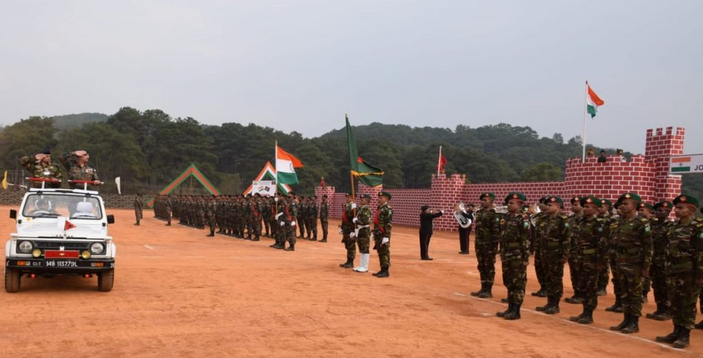 2 1 1024x522 - Indo-Bangla Joint Military Exercise 'SAMPRITI-IX' Begins